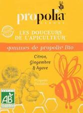 GOMMES DE PROPOLIS BIO PROPOLIA Citron Gingembre Agave MADE IN FRANCE