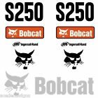 S250 Decals S250 Stickers Bobcat Skid Steer loader DECAL SET