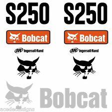 S250 Decals S250 Stickers Bobcat Skid Steer loader DECAL SET