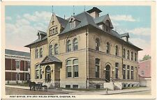 Post Office at 5th and Welsh Streets in Chester PA Postcard