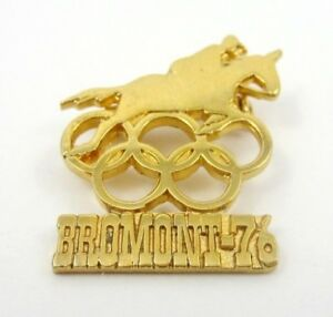 1976 Olympics Olympic Equestrian Centre, Bromont Canada Great Olympic Pin