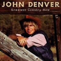 "JOHN DENVER ""GREATEST COUNTRY HITS"" CD NEUWARE"