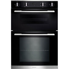 Rangemaster RMB9045BL/SS Built In 60cm Electric Double Oven Black New