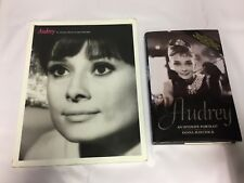 2x Audrey Hepburn Books Good Condition Intimate Portrait Intimate Collection