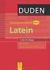 Duden - Schulgrammatik extra - Latein von Monika Bornemann | Buch | Zustand gut