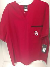 Oklahoma Sooners Size small Dudz Scrubs Ticketed For 24.99