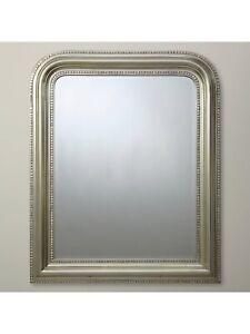 Brissi London Ltd Hampshire Mirror Small Silver 87 x 72cm £299.00