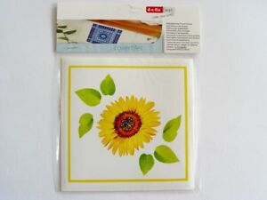 18 Tiles Sticker Self Adhesive 14,6 x 14,6cm (3x 6er) Sunflowers