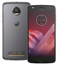 "MOTOROLA MOTO Z2 PLAY Gray 64GB-4GB XT1710-09 5.5"" HD Smartphone UNLOCKED A++"