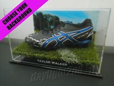 ✺Signed✺ TAYLOR WALKER Football Boot PROOF COA Adelaide Crows 2017 Guernsey