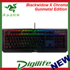 Razer Blackwidow X Chroma Mechanical Gaming Keyboard - Gunmetal Edition