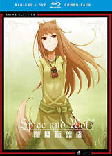 Spice and Wolf: Complete Series (Blu-ray Disc, 2014, 8-Disc Set)