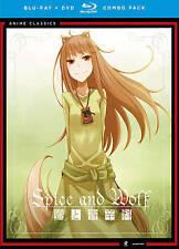 Spice & Wolf: Complete Series (Blu-ray/DVD Combo) DVD, Brina Palencia, Chuck Hub