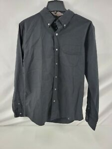 American Eagle Outfitters Women's Shirt Medium Black Buttons New 2088
