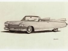"Postcard-""The Classy Convertible"" (B526)"