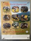 RARE Vintage 1991 Smokey Bear Poster Fire Prevention Cowboy Rodeo 1990 Champions