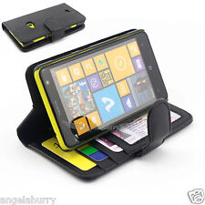 Premium Credit Wallet Leather Case Cover For Nokia Lumia 625