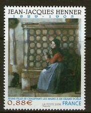 TIMBRE 4286 NEUF XX LUXE - JEAN-JACQUES HENNER - JEUNE FILLE SE CHAUFFANT