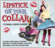 Lipstick On Your Collar - 75 Original Jukebox Classics (3CD 2011) NEW/SEALED
