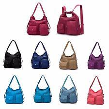 Women Lady Handbag Shoulder CrossBody Messenger Tote Bag Backpack Rucksack Trave