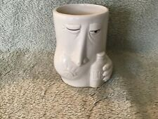 Humorous 1988 Fitz and Floyd LISTERINE mouthwash tumbler - as found
