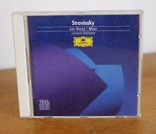 STRAVINSKY les noces Mass – Leonard Bernstein – 423 251-2