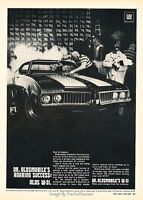 Pristine Restoration in Black 1971 Oldsmobile 442 W-30 New Metal Sign