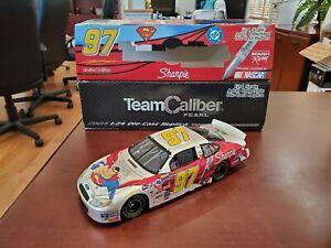 2004 Kurt Busch #97 Superman Justice League Pearl 1:24 NASCAR Team Caliber Owner