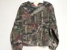 Mossy Oak Break-up Infinity Camo Lined Long Sleeve Shirt Kids XL 18-20   #305