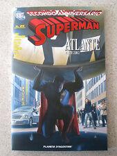 SUPERMAN 25 VARIANT COVER EDIZIONE LIMITATA PLANETA DC COMICS GRANDI STORIE LION
