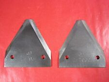 Nos Two Vintage Z7030 John Deere Serrated Knife Sections -Sickle-Haybine-Combine