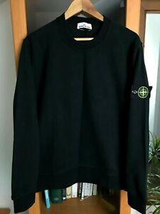 STONE ISLAND Original Pullover Sweater Herren Gr. L Schwarz
