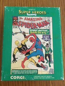 MARVEL SUPER-HEROES Limited Edition CORGI  Spider-Man Vans 1137/5000   1992