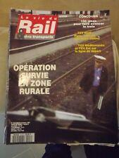 La vie du rail n°2413  29/09/93  TGV nord , TGV méditerranée et TGV est