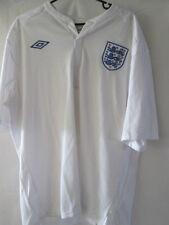 "England 2011-2012 euros three lions Home Football Shirt Size 46"" /11918"