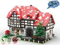 """""""Silver Pot Inn"""" - PDF-Bauanleitung- für LEGO® Steine [60004 60061 3181] (V2)"""