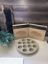 Pampered Chef 3pc Lot (2) Microwave Chip Makers #1241 & Silicone Muffin Pan