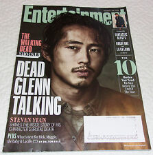 The Walking Dead Glenn Entertainment Weekly Nov 2016 Steven Yeun Tove Lo