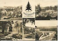 Ansichtskarte Trautenstein/Harz - Brockenblick-Kinderkurheim-u.a. - 1969 -s/w