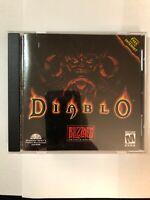 Diablo Video Game PC Original Case For Windows 95 Blizzard