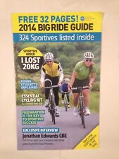 2014 BIG RIDE GUIDE CYCLING MAGAZINE BICYCLE BIKE RIDING 32 PAGE GUIDE 2014