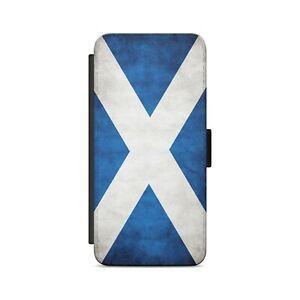 Scotland Flag Scottish Flag The Saltire St Andrew's Cross Flip Wallet Phone Case