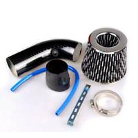 """Universal 76mm 3"""" Inch Car Cold Air Intake Filter Induction Kit Pipe Hose System"""