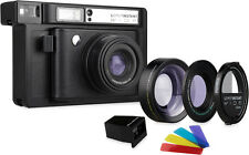 Lomography Lomo'Instant Wide Black : 3 lenses + Splitzer + Fujifilm Cartridge