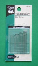 Dritz Embroidery Hand Sewing Needles - Size 3/9 - 16 pack