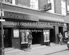 "Ronnie Scotts Club Soho Sixties 10"" x 8"" Photograph no 3"