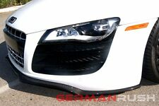 2007-2015 Audi R8 Carbon Fiber German Rush Front Splitter for coupe