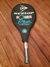 "Dunlop Power Plus No.3 4 3/8"" Oversize Widebody Tennis Racquet with case New"