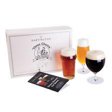 Dartington cristal - 3 A bientôt pour bières 3 Verre Pack emballé Coffret cadeau
