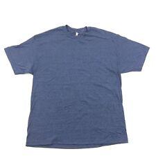 Plain Shirt Extra Large Tshirt Blend Classic Baggy Minimal Alstyle Activewear XL